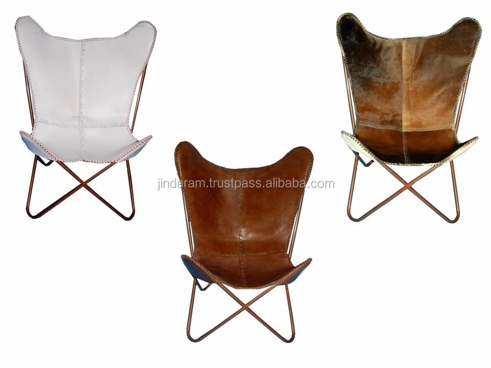 Leather Butterfly Chair Collection.JPG