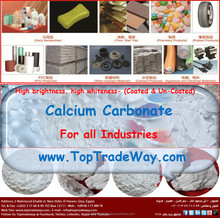 Over 96% Whiteness Calcium Carbonate / Limestone