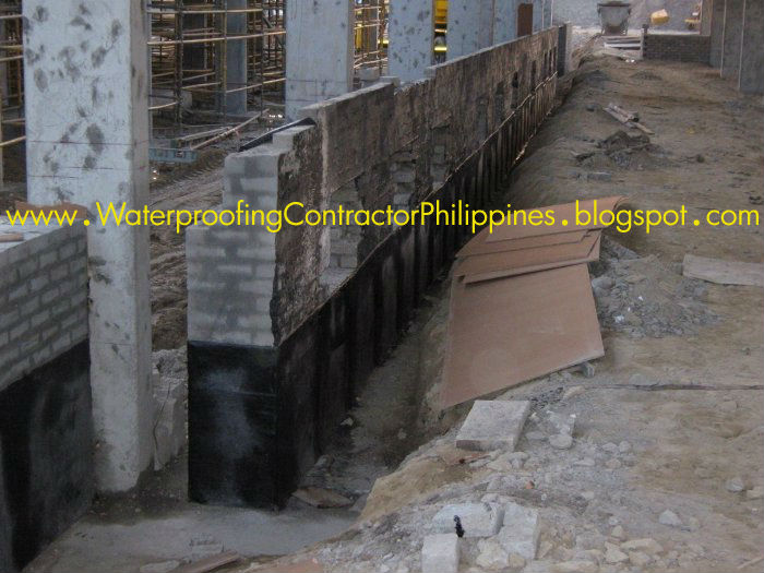 Retaining Wall Expert Waterproofing Company Contractor