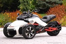 Brand New 2015 Can-Am Spyder F3 Motorcycle