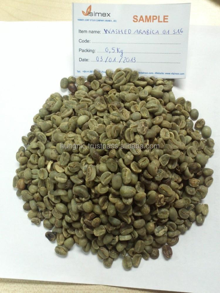 Arabica Coffee Suppliers Vietnam