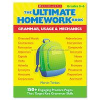 Scholastic The Ultimate Homework Book: Grammar Usage & Mechanics Education Printed Book