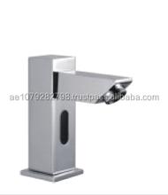 Automatic Sensor Bathroom Faucet Mixer With Temperature Control Handle ZAT-TW0474