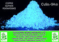 sulfato de cobre de grado de la industria