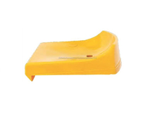 Tema PP Fixed Plastic Stadium Seat without Backrest