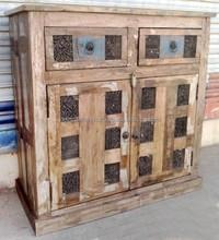 Reclaimed wood 2 drawers 2 Doors buffet
