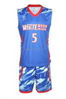High Quality 100% Polyester cool youth basketball jerseys sleeveless youth basketball jerseys