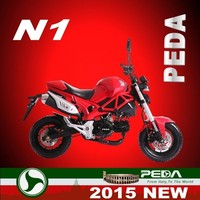 (N1-MON) 2015 NEW 50cc motorcycle 110cc pocket bike 125cc racing bike Italian design HOT SALE (PEDA MOTOR)