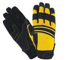 doble palma( reforzada) espesor de goma guantes de aceite 100 pares guantes de seguridad mecánicos