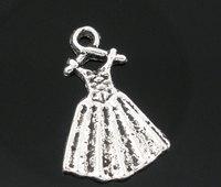 Pendant, dress, zinc metal alloy, Antique Silver , 19x13mm. Sold per packet of 50