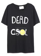 quotes printed tshirt, custom text printed t shirt, custom brand name printed tshirt