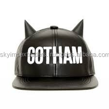 batmen lover leather snapback hats for men and women .gift for batman lover in Gotham