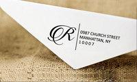 Custom Self Inking Personalized Stamper Return Address Family Address StampS1