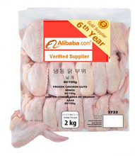Frozen Chicken cut Wings 80-100 g Origin Brazil to United Arab Emirates