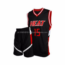 Latest Sublimation Custom Basketball Uniform Design