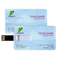 Business Card Pen Drive | Credit Card USB Flash Drive For Promotion