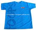 Baloncesto ronda de niños cuello fresco y seco t- shirt de poliéster