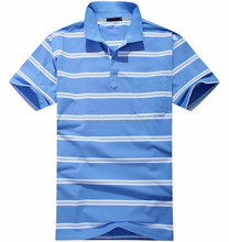 cotton sports polo shirt stripe brand polo t shirt supplier in Pakistan