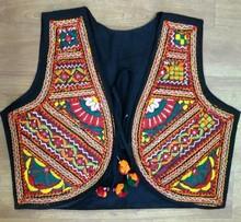 Exclusive Traditional rajasthani badmeri mirror work Vintage Ethnic Designer Pakkowork wholesaler of Koti Jacket