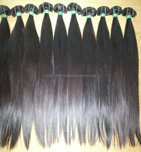 100%unprocessed hair single draw vietnam virgin hair straight