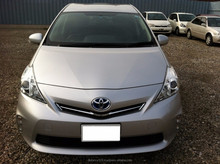 TOYOTA Prius alpha High quality Japanese used car model 2013 low mileage
