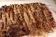 Light virgin hair bulk