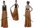 nuevo estilo de moda 2014 algodón elegante diseñador de faldas largas
