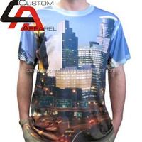 Unisex 3 d t shirt custom printing pattern digital sublimation dry fit/Custom Fashion Design Custom Sublimated t shirt for Men