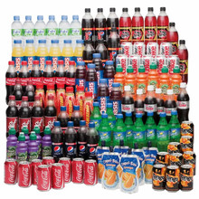Cola , Sprite , Fanta, Pepsi, Bottles/ Can