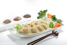 Steamed/fried halal dim sum siu mai convenient food Chicken Dumpling