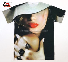2014-15 Custom Full Sublimated Printed T-Shirt High Quality Material/ High Quality Sublimation Printed T Shirts