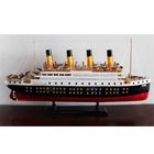 madeira modelo de barco à vela
