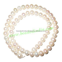 Fresh Water Pearl String, approx 60 pearls of size 7mm in a string