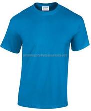 Hot Sale 100% cotton Mens Plain Black T Shirt