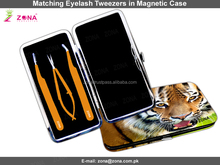 Tweezers For Professional Eyelash Extension / Get S- Shaped Eyelash Extension Tweezers Under Custom Brand Name From ZONA