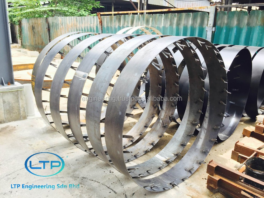 Precast Concrete Collar : Stainless steel mild collar for concrete jacking
