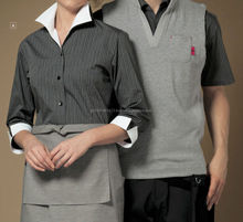 Variety of easy to dry hotel uniform wear for doormen and concierges