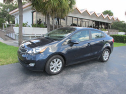 USED CARS - KIA RIO EX - RECOVERED THEFT (LHD 820408)