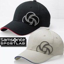Samsonite 3D logo embroidered Cap SNCP-101 golf head wear Samsonite cap