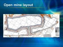 granite deposit and open mine