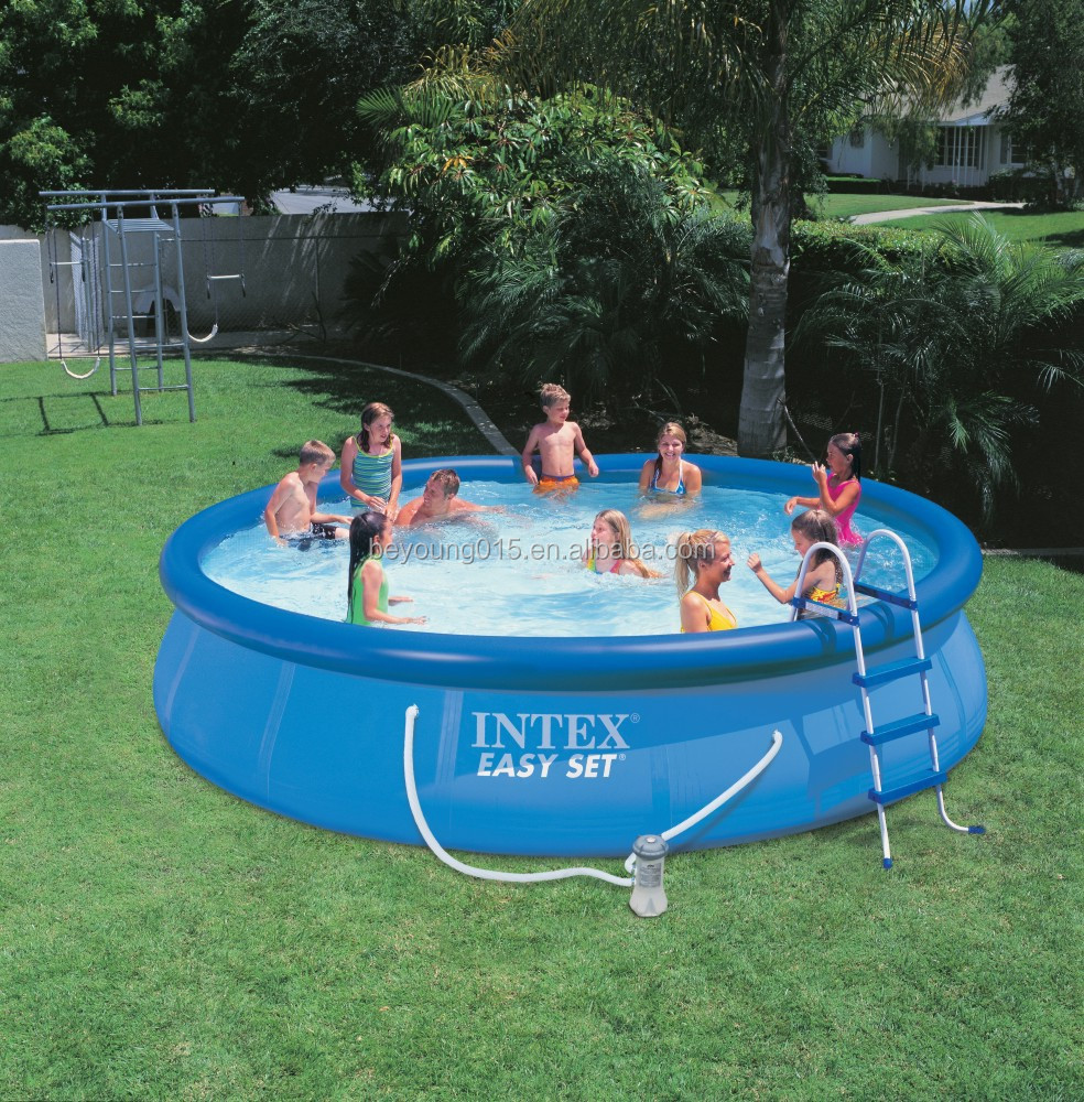 Intex Easy Set Round Inflatable Swimming Pool For Family Kids Fun,Swimming  Pool Quick-up - Buy Inflatable Swimming Pool,Intex Adult Swimming ...