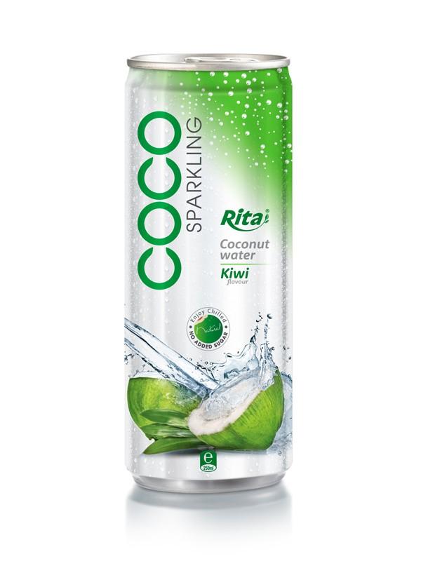 250ml Kiwi flavor Sparkling Coconut Water.jpg