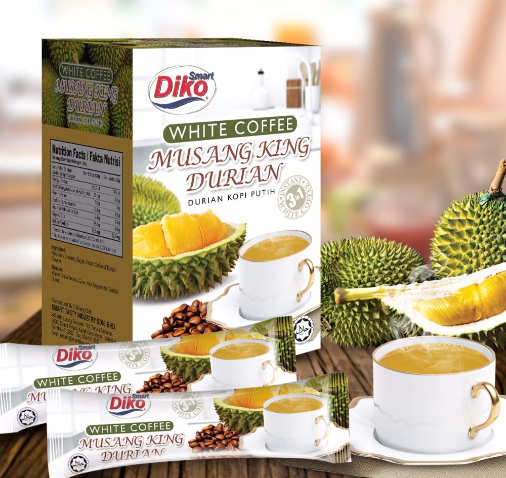 Instant White Coffee 3in1 Malaysia With Milky Taste Buy Kopi Wihte Durian Box Stick