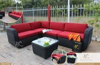 Modern patio wicker synthetic rattan garden furniture