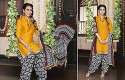 Trendy cotton patiyala girls dress /Fancy punjabi suits /Exclusive punjabi dress material / punjabi suits designs pakistani