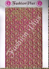 Latest New Designer Golden Zari Lace fabrics