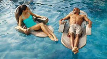 Extra-large Floating Pool Chaise