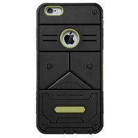 High quality elegnant PC + TPU Combo Phone Cover for iPhone 6s Plus / 6 Plus - Army Green