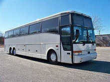 1998 White Vanhool T2145 60 Passenger Newly Converted Party Bus for Sale #6098