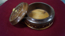 Spice Box~Wooden ~Nepal ~High quality/ Spice 2